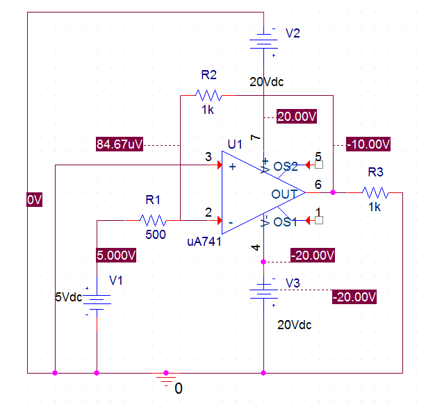 inverting opamp